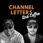 Clip video Channel Letters and coffee